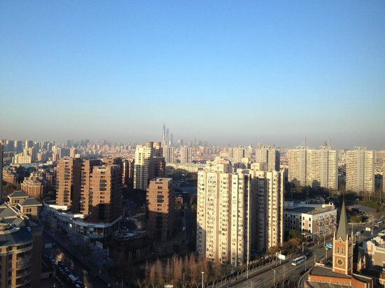 Shanghai Marriott Hotel Pudong East: View from Room