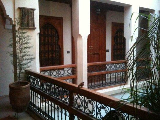 Riad Dubai: La balconata