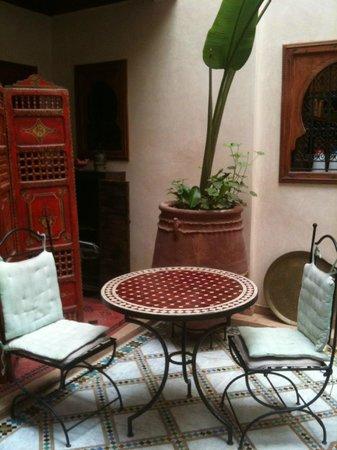 Riad Dubai: Il cortile
