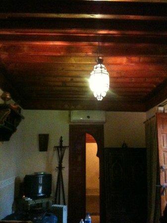 Riad Dubai: Il soffitto della camera