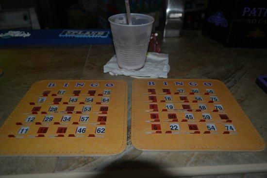 "The Dream Pool Bar : ""Drunken Bingo"" night"