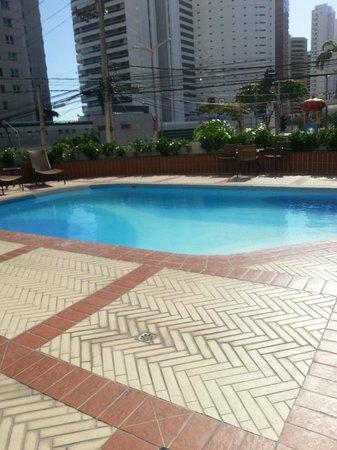 Hotel Diogo Fortaleza : Piscina