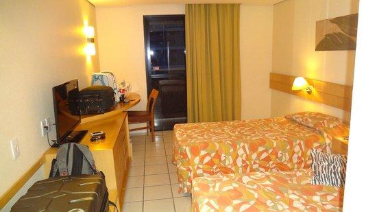 Hotel Diogo Fortaleza : Apto duplo