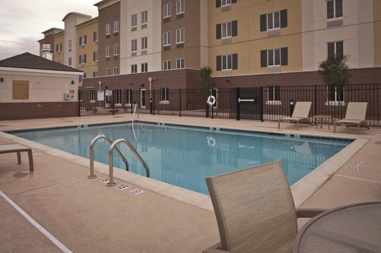 Pool Picture Of Candlewood Suites Building 540 On Yuma Proving