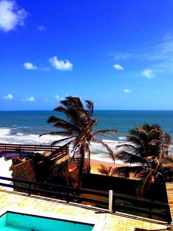 Jardim Oceano Hotel Boutique : A vista do quarto em que ficamos hospedados.