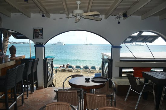 Mary's Boon Beach Resort and Spa: View from inside the bar