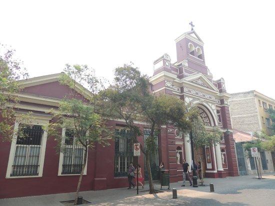 Barrio Lastarria: Iglesia