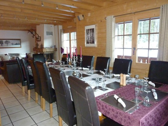 Alps in Style, Chalet Esprit : Dine in style with Alps in Style