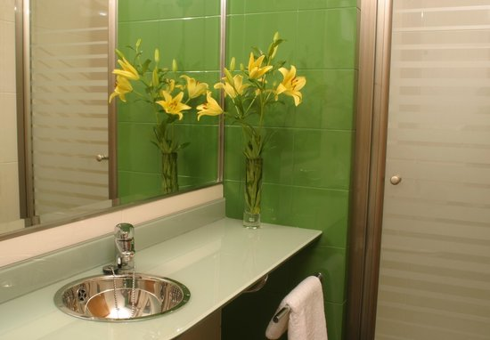 Hotel AB Murias Blancas: Baño con ducha