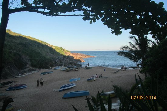 Barra do Jucu Beach: Morro da Concha