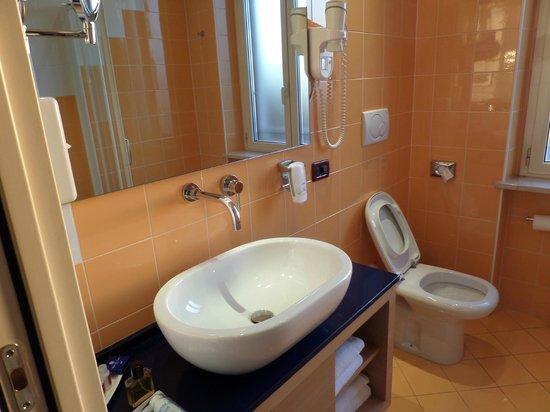 Best Western Hotel Piemontese: Das Bad ist neu renoviert und gut ausgestattet