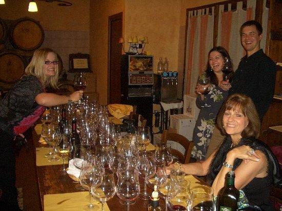 Tenuta Torciano Vineyards : So many Super Tuscan wines to taste