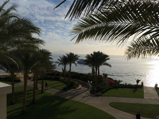 Stella Di Mare Beach Hotel & Spa: THE BEAUTIFUL VIEW FROM MY ROOM