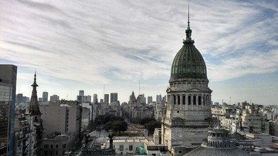 Uno Buenos Aires Suites: Vista a partir do ático do hotel.