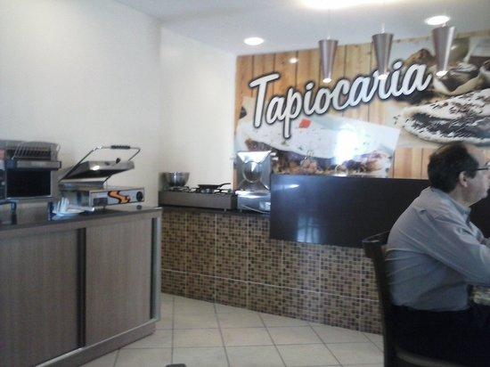 Marc Center Hotel : TAPIOCARIA DELICIOSA DO CAFÉ DA MANHÃ