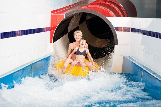 Kinderhotel Oberjoch: Wasserrutsche 128 Meter