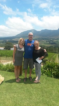Percy Tours Day Tours : with Percy in the 'Hemel-en-Aarde' Valley