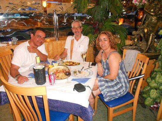 Freiduria Las Gaviotas: muy buena comida en familia!