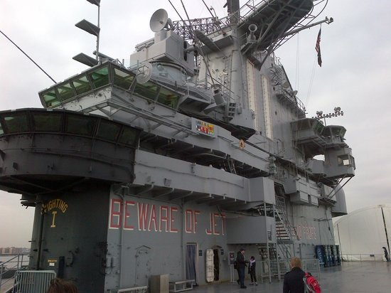 Intrepid Sea, Air & Space Museum : Intrepid Upper Deck