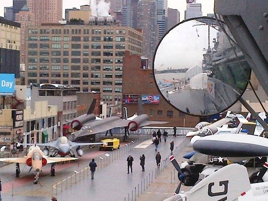 Intrepid Sea, Air & Space Museum: View from upper deck