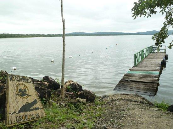 Ecolodge El Sombrero: Embarcadero del hotel