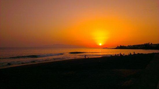 H10 Costa Adeje Palace : Unbelivable sunset