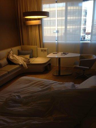 Pullman Brussels Centre Midi Hotel : Zithoek