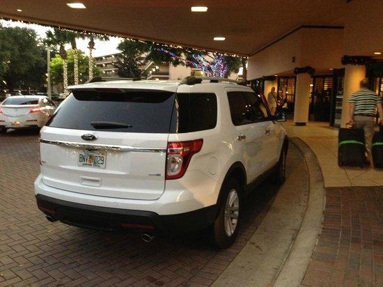 Rosen Inn at Pointe Orlando: Lobby