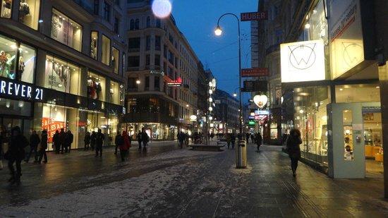 Hilton Vienna: центр