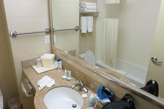Best Western Plaza Hotel: bathroom