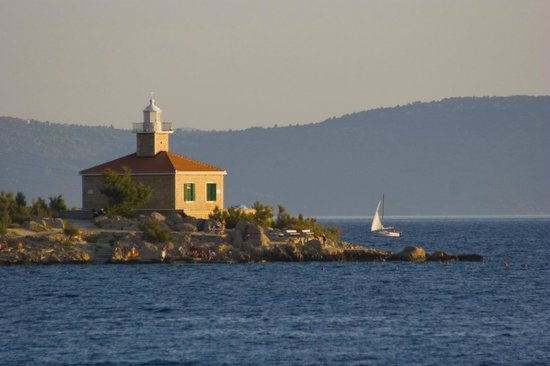 The Maritimo Hotel: View of the lighthouse