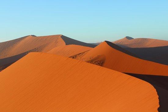 Deadvlei: 45 дюна на восходе солнца