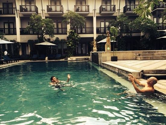 The Lokha Legian : Poolside fun