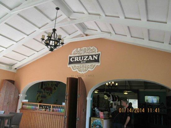 Cruzan Rum Distillery : Cruzan Rum factory