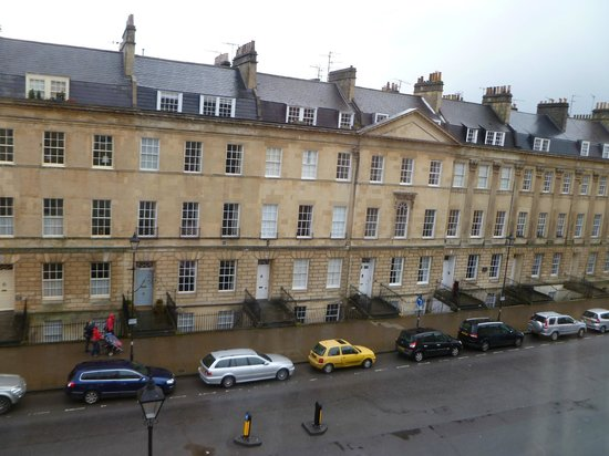 Dukes Hotel : Wellington Suite, view out window of Great Pulteney Street