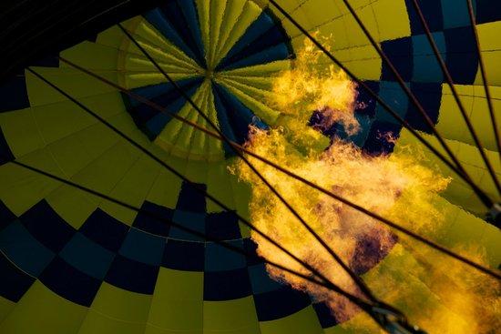 Up & Away Ballooning: Fire away