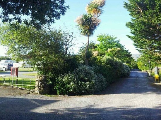 Anchor Caravan Park CastleGregory: entrance