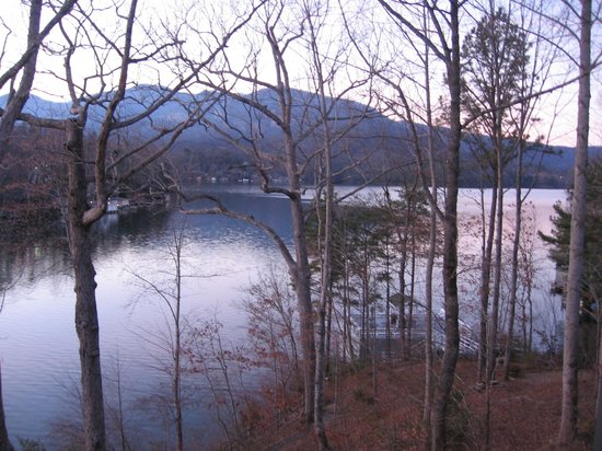 The Lodge on Lake Lure : View from our room