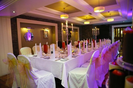 Castle Hotel and Leisure Centre: Arbutus Private Dining Suite