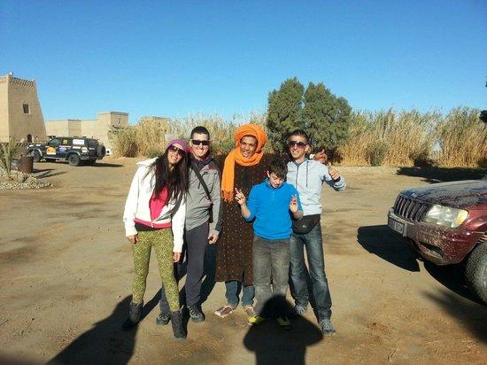 Nasser Palace: En el nasser con nuestro amigo
