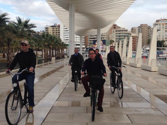 Malaga Bike Tours by Kay Farrell: Reservoir Dogs on Bikes!!