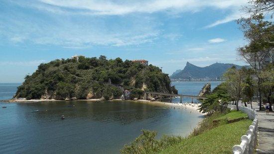 Niteroi, RJ: Praia da Boa Viagem.