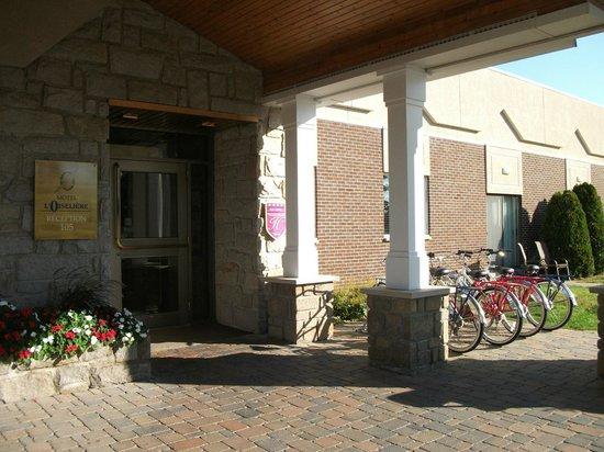 Hotel L'Oiseliere - Montmagny : Location de vélos, Hôtel l'Oiselière