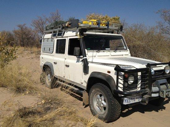 South Africa 4x4: Kalahari Desert
