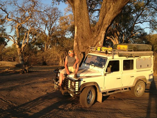 South Africa 4x4: Sunset in Linyanti (Chobe)