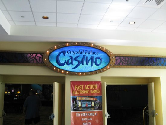 Crystal Palace Casino : Entrance-no pics inside : (