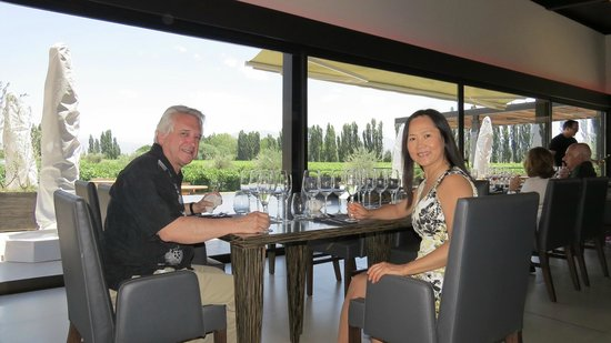 Gustavo Delucchi Wine Tours: Chef Mun's Asian Fusion Lunch at Casarena