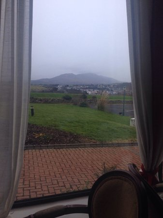 Knockranny House Hotel : View from restaurant