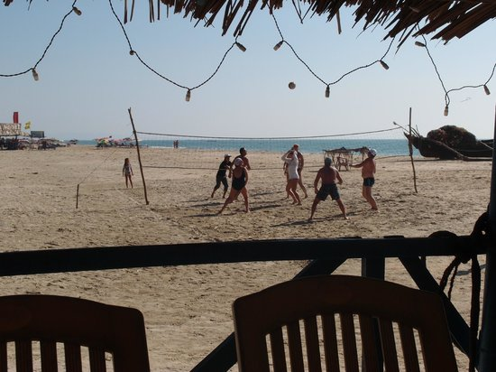 Coconut Grove: Воллейбол на пляже