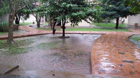 Kassapa Lions Rock: jour de pluie (intense)